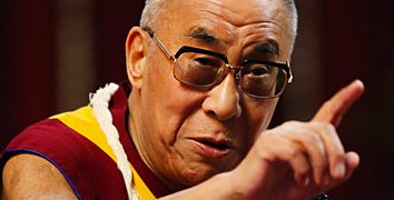 Is the Dalai Lama a vegetarian?